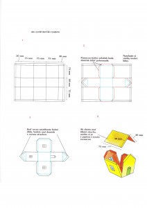 Ako vyrobiť domček z papiera?