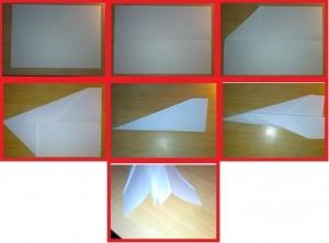 Ako si vyrobiť stíhačku z papiera?