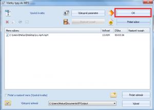 Ako zmeniť MP4 na MP3?