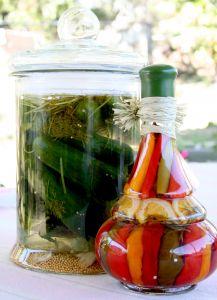 Ako zavárať uhorky?