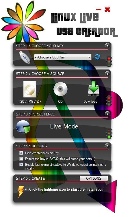Ako vytvoriť Live CD / USB Linuxu?