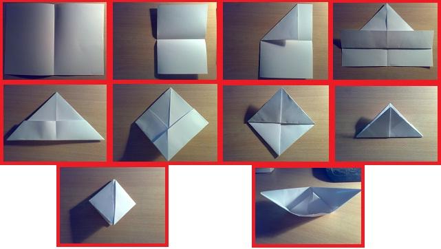 Ako si urobiť loďku z papiera?