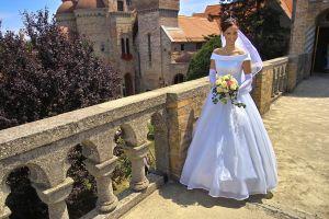 Luxusné svadobné šaty